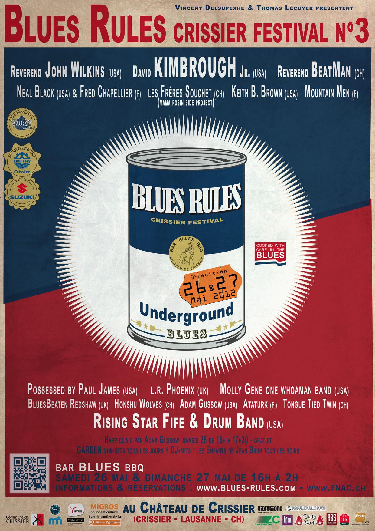 Blues Rules Crissier Festival n°3 BR_3