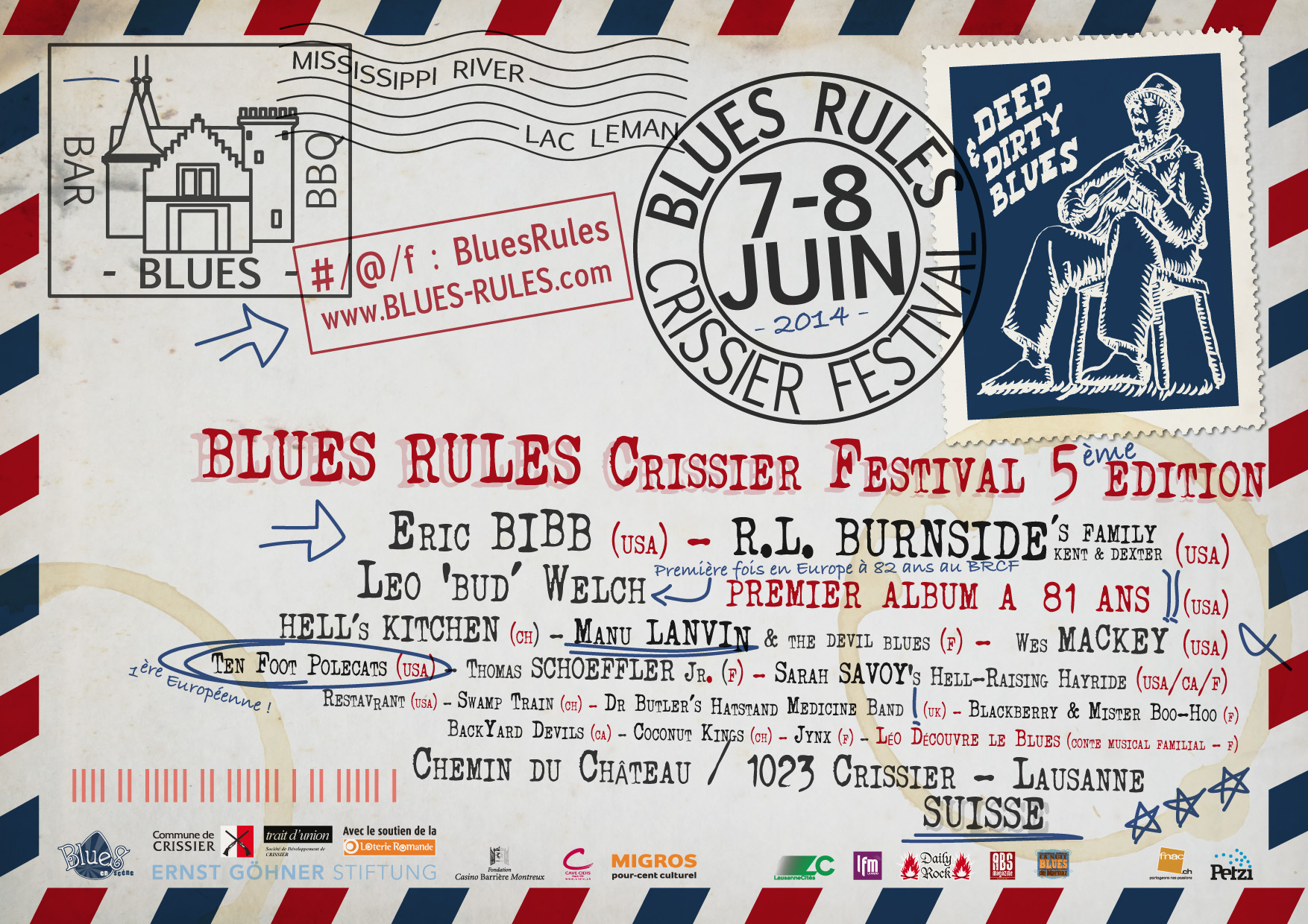 Blues Rules Crissier Festival 2014