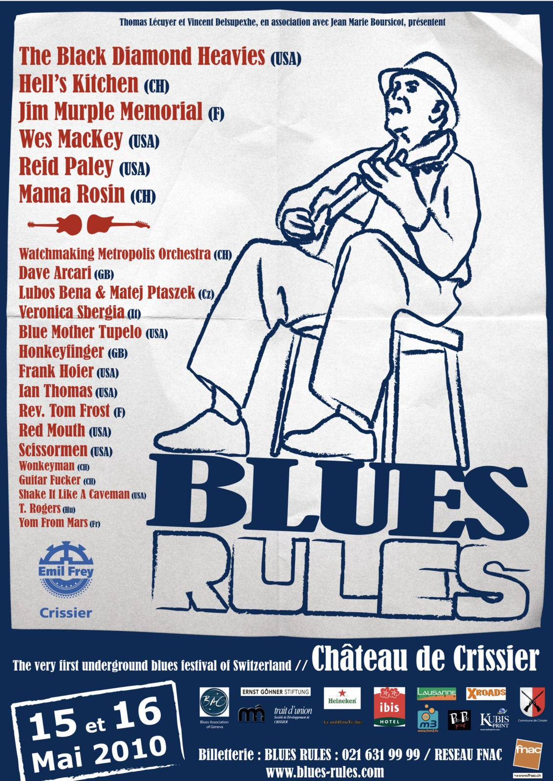 Blues Rules Crissier Festival 2010