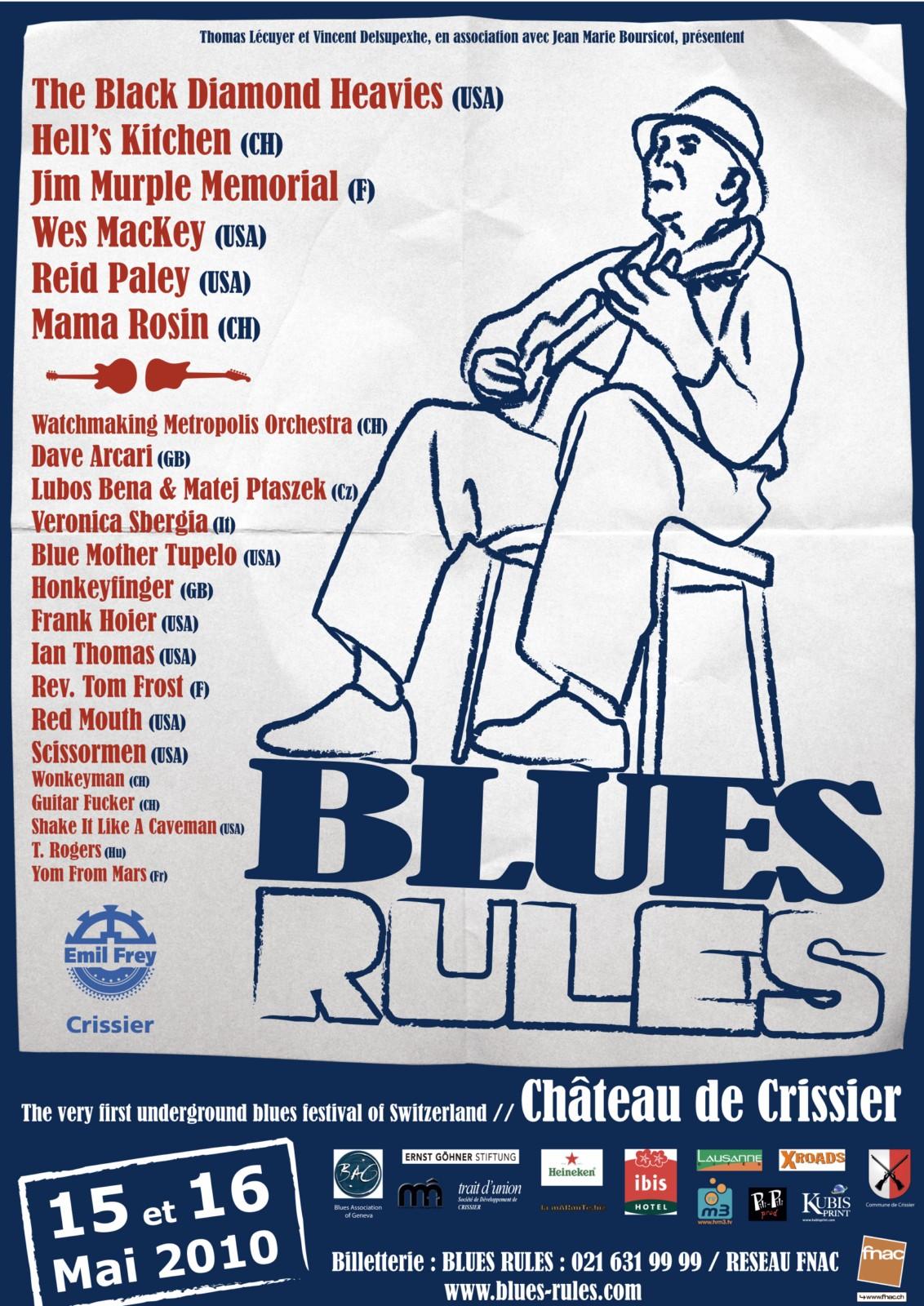 Blues Rules Crissier Festival 2010
