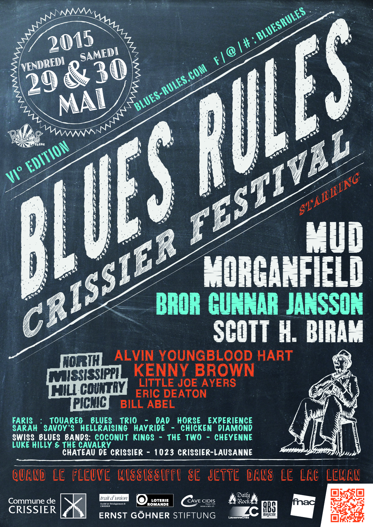 Blues Rules Crissier Festival 2015