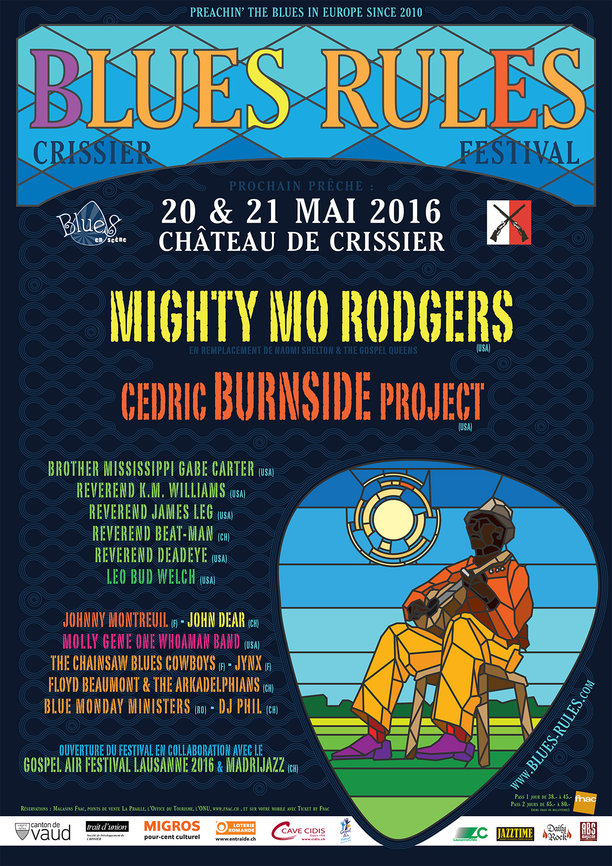 Blues Rules Crissier Festival 2016