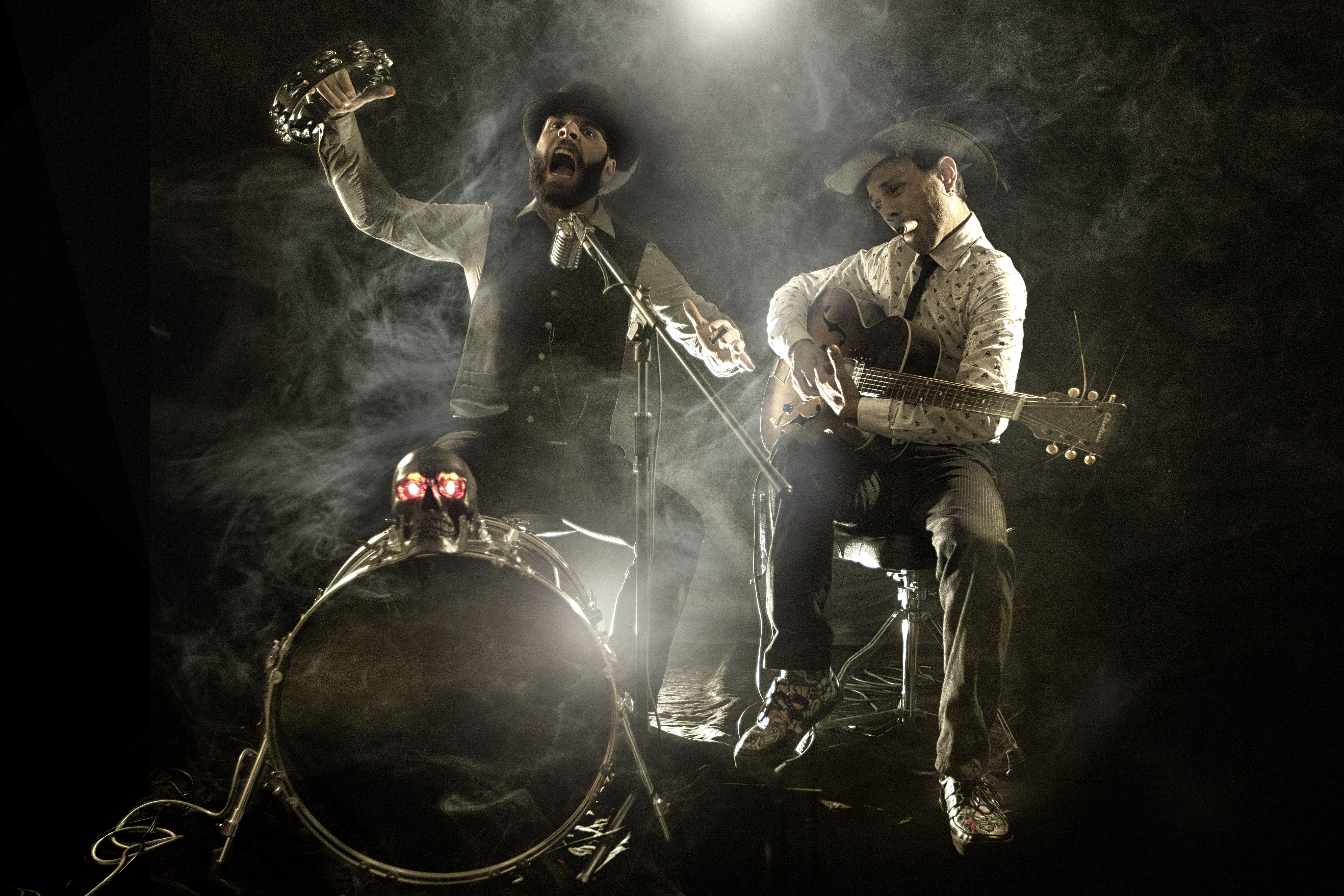 Chainsaw Blues Cowboys -c-Erich_Zann_et_James_Chainsaw