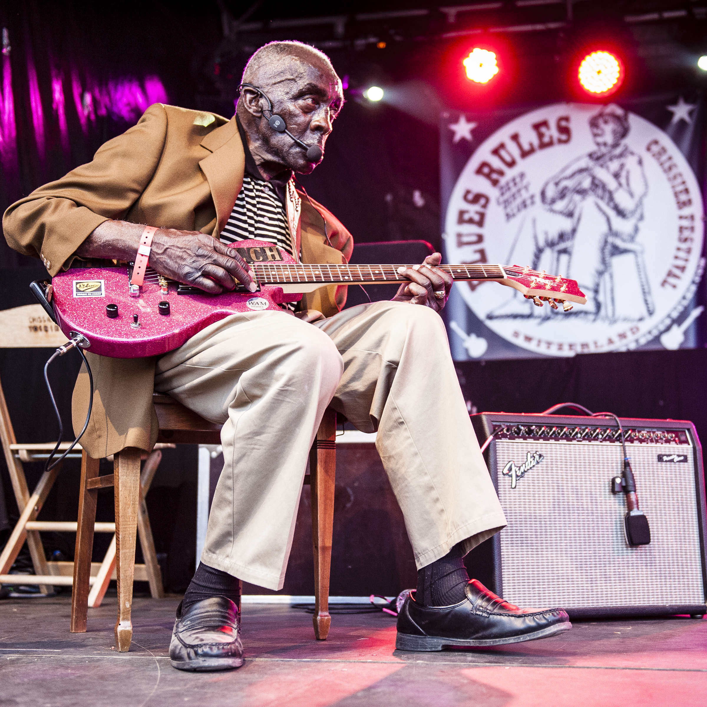 Leo Bud Welch Blues Rules Crissier Festival 2014, fifth edition