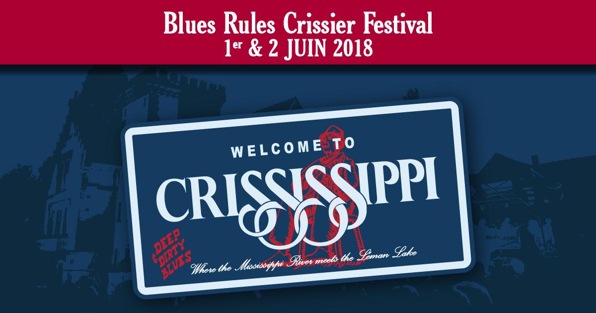 Blues Rules Crissier Festival 2018 : les préventes indiegogo