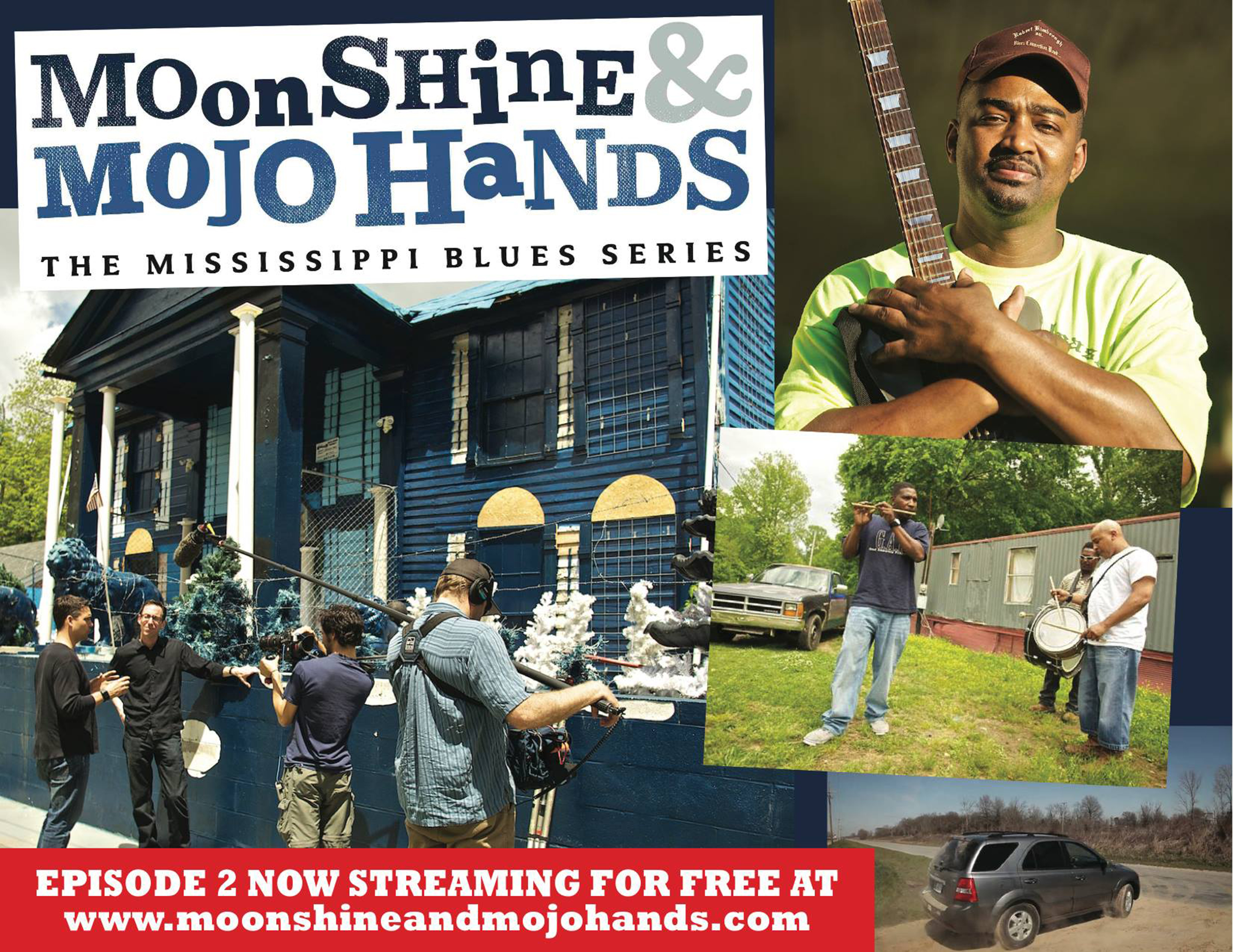 Moonshine & Mojo Hands - Robert Kimbrough Sr.