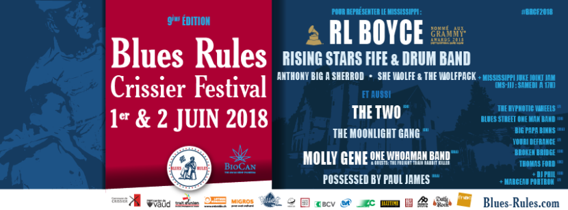 BRCF2018 - Blues Rules Crissier Festival 2018