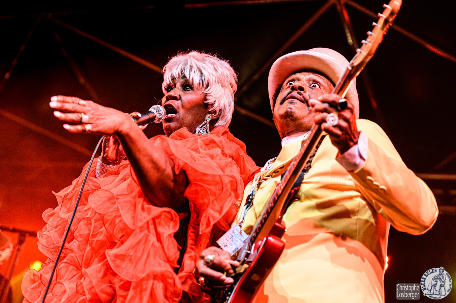 johnie b & queen iretta sanders blues band revue blues rules 2019