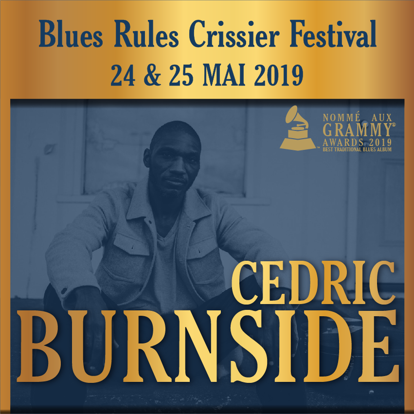Cedric Burnside @ blues rules