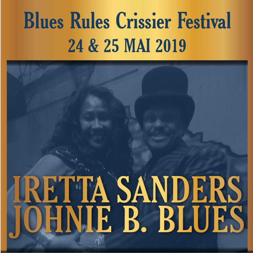 Johnie B. & Queen Iretta Sanders Blues Revue @ blues rules