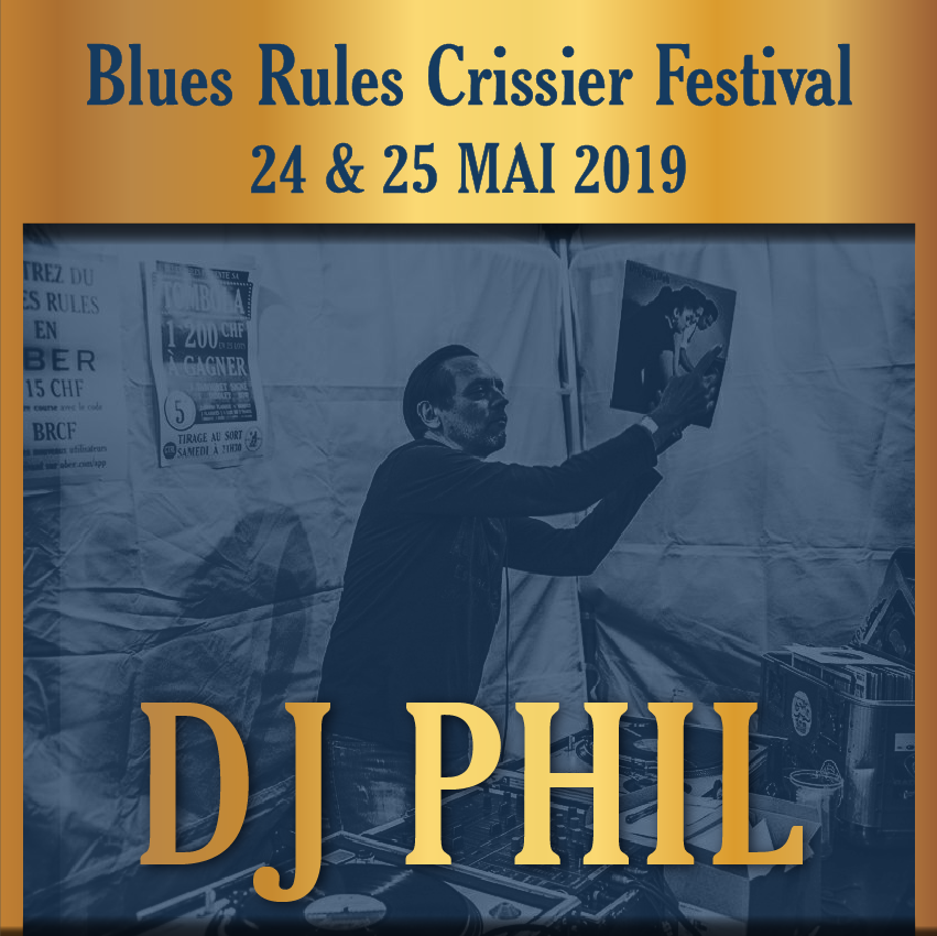 DJ Phil @ blues rules