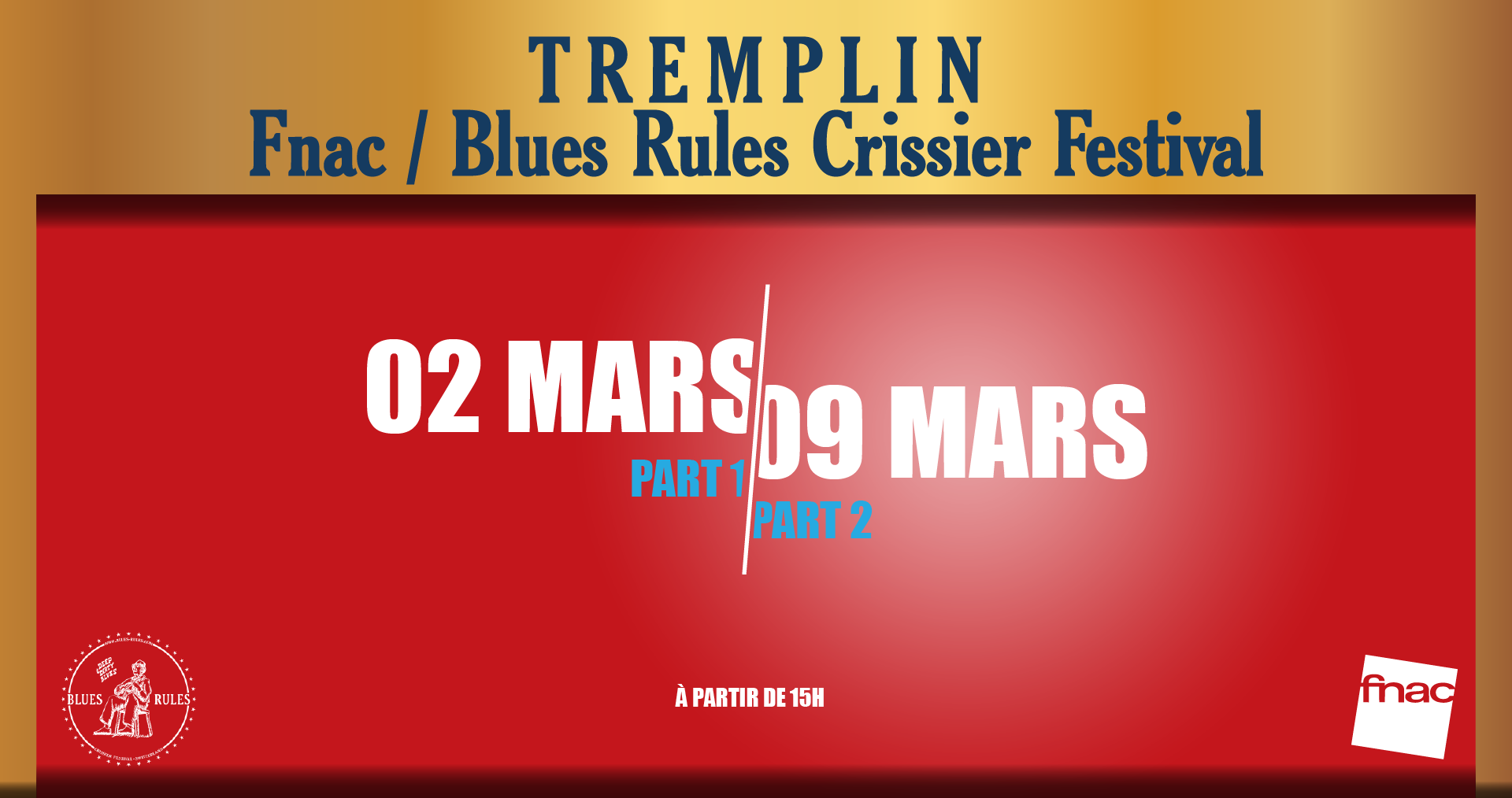 Tremplin Blues Rules / Fnac 2019