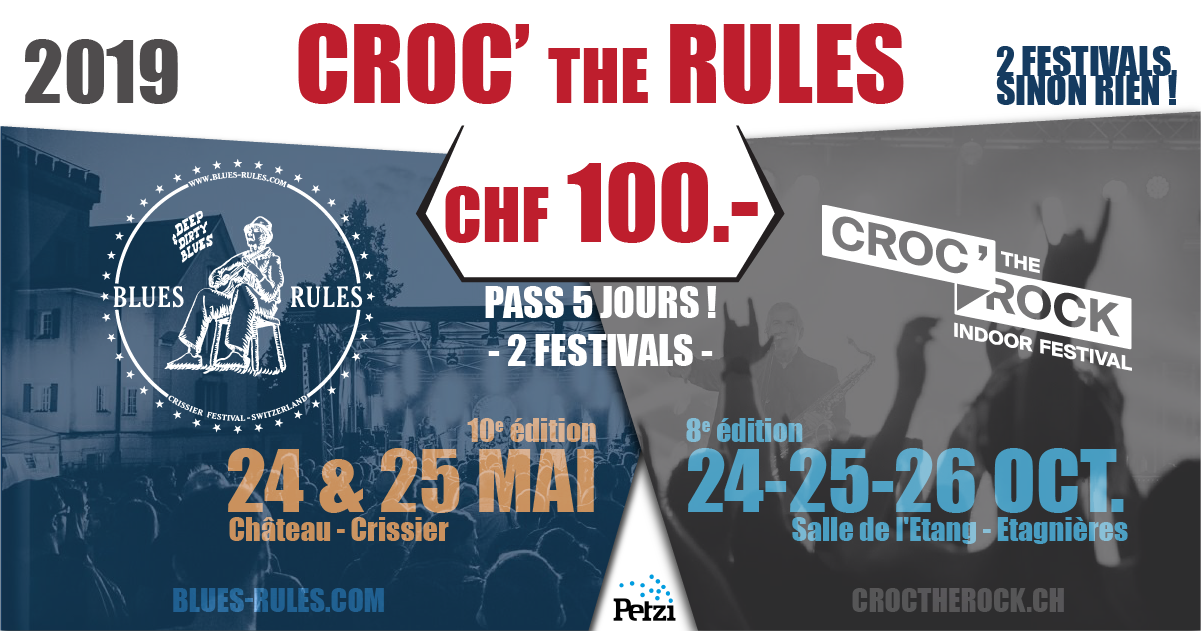 Crock the Blues ticket