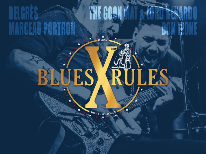 programmation Blues Rules 2019