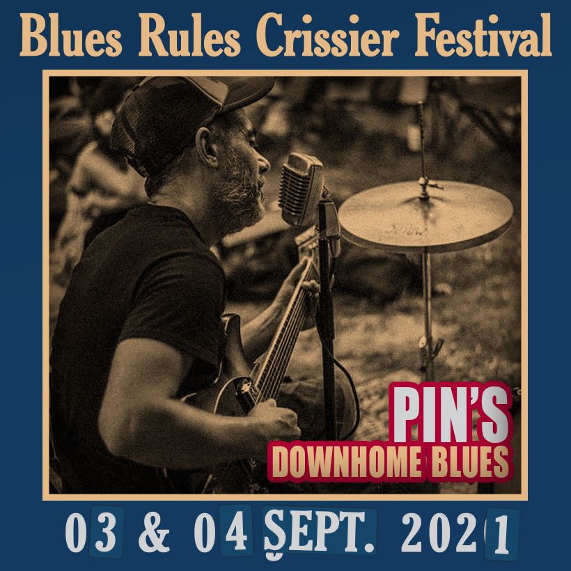 pin's Downhome Blues Rules 2021