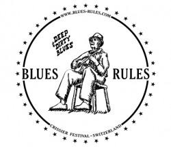 T-SHIRTS Logo Blues Rules