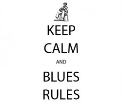 T-SHIRTS keep calm and blues rules