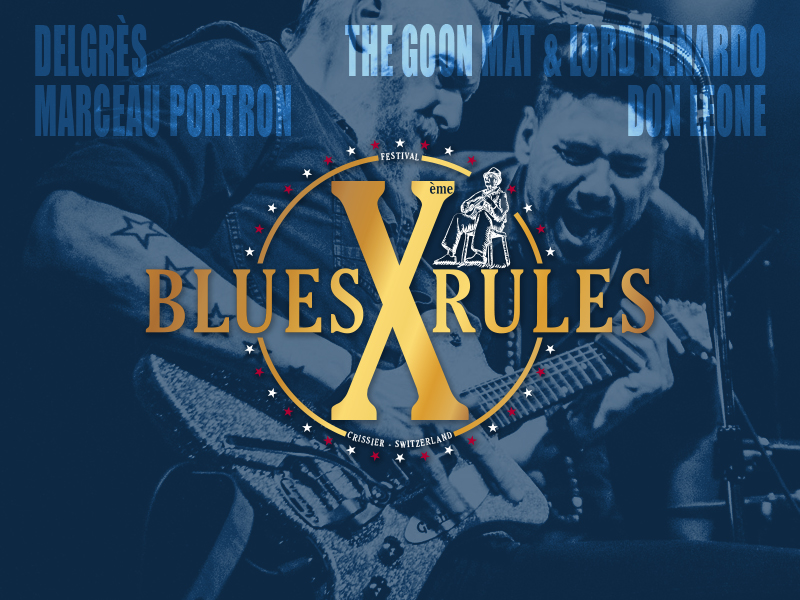 programmation Blues Rules 2019