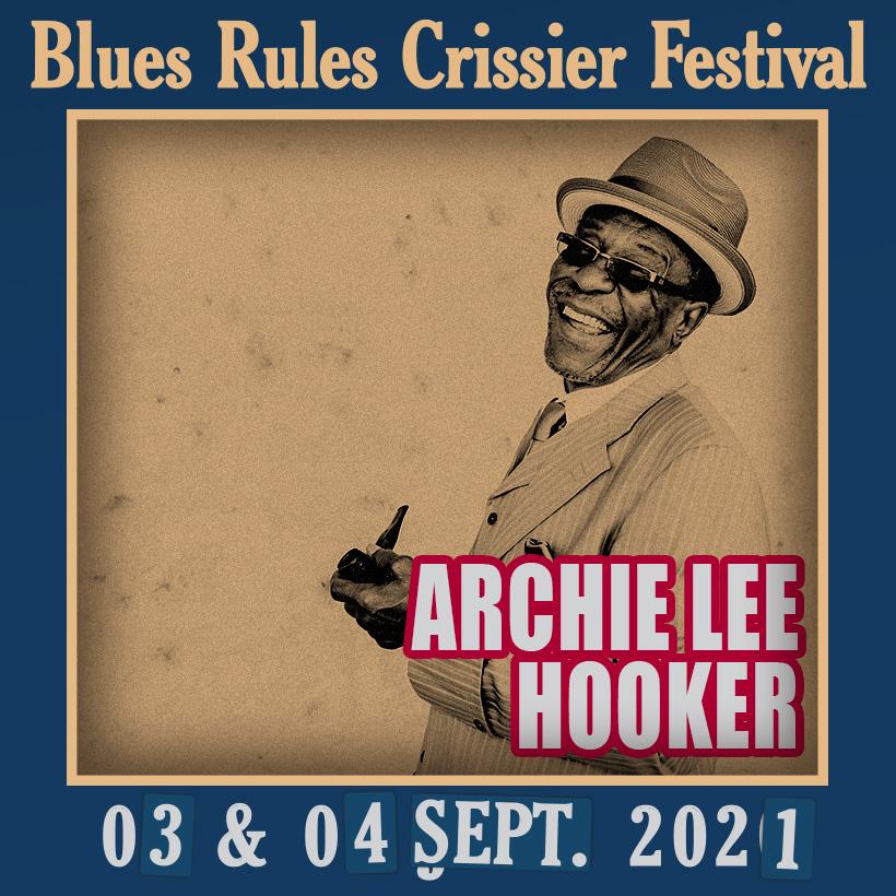 Archie Lee Hooker @ Blues Rules 2021