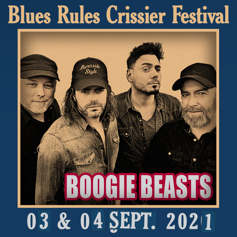Boogie Beasts @ Blues Rules 2021