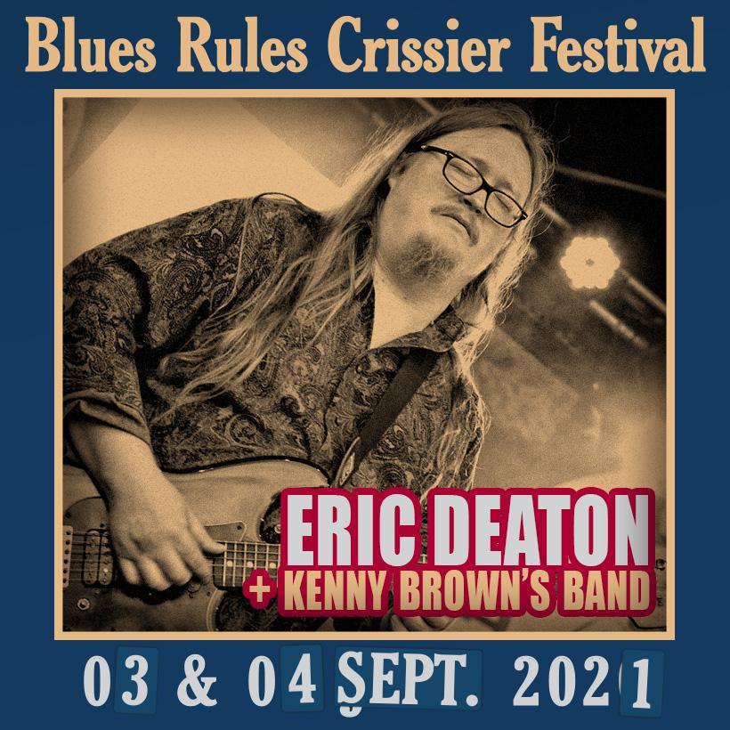 Eric Deaton @ Blues Rules 2021