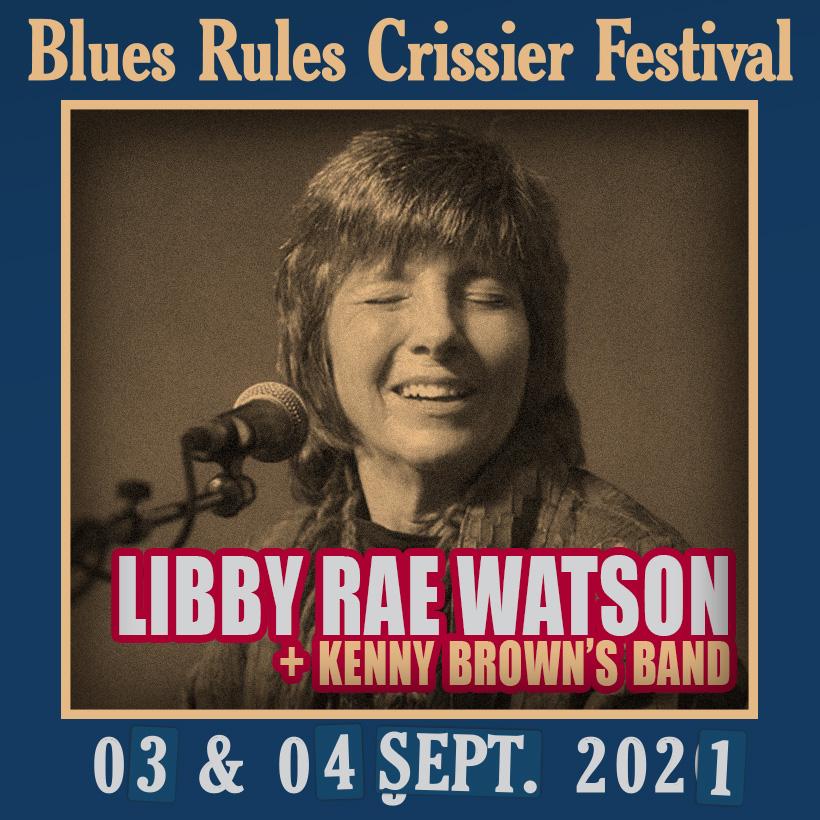 Libby Rae Watson @ Blues Rules 2021