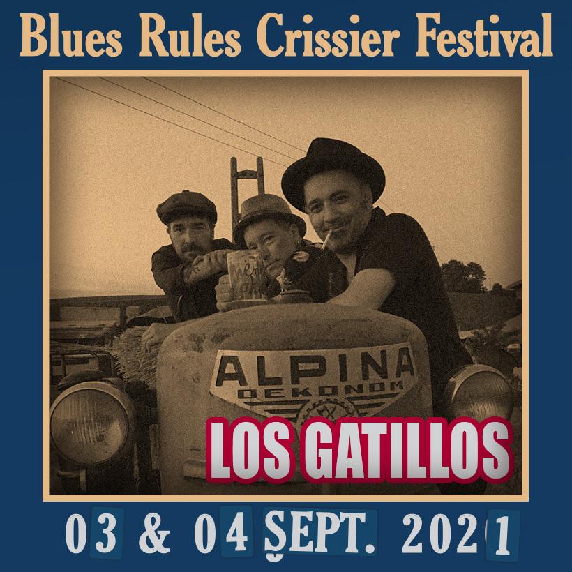Los Gatillos @ Blues Rules 2021