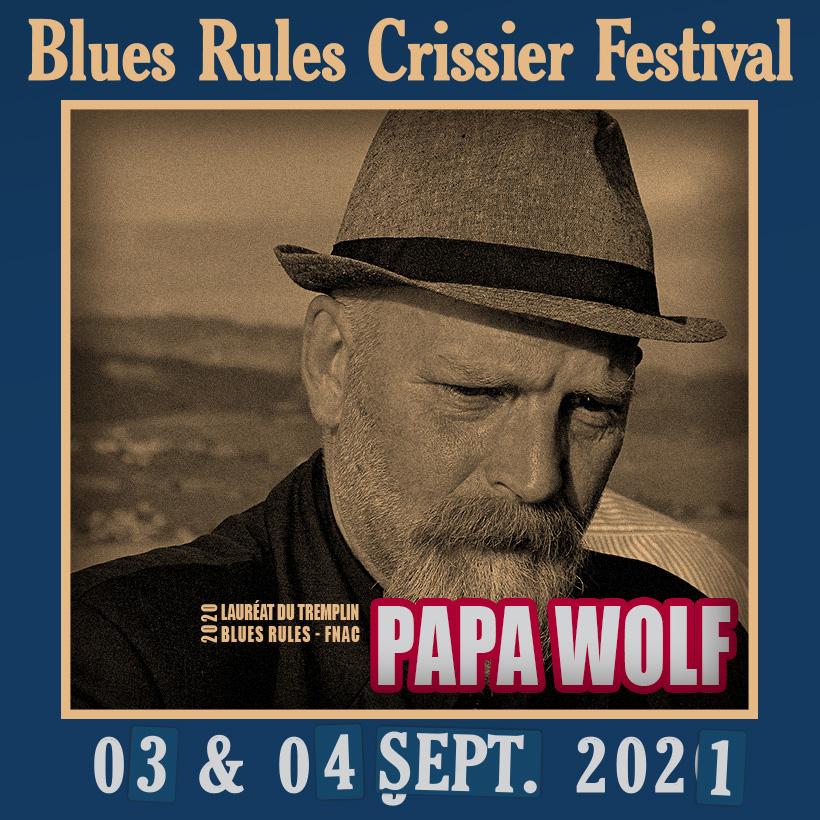 Papa Wolf @ Blues Rules 2021