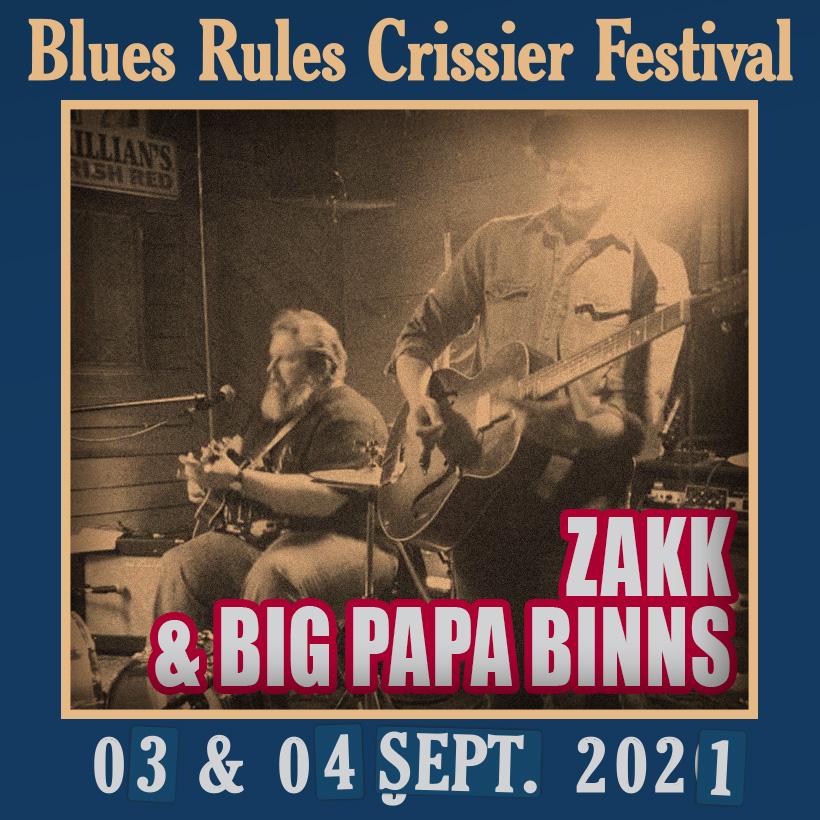 Zakk Big Papa Binns @ Blues Rules 2021