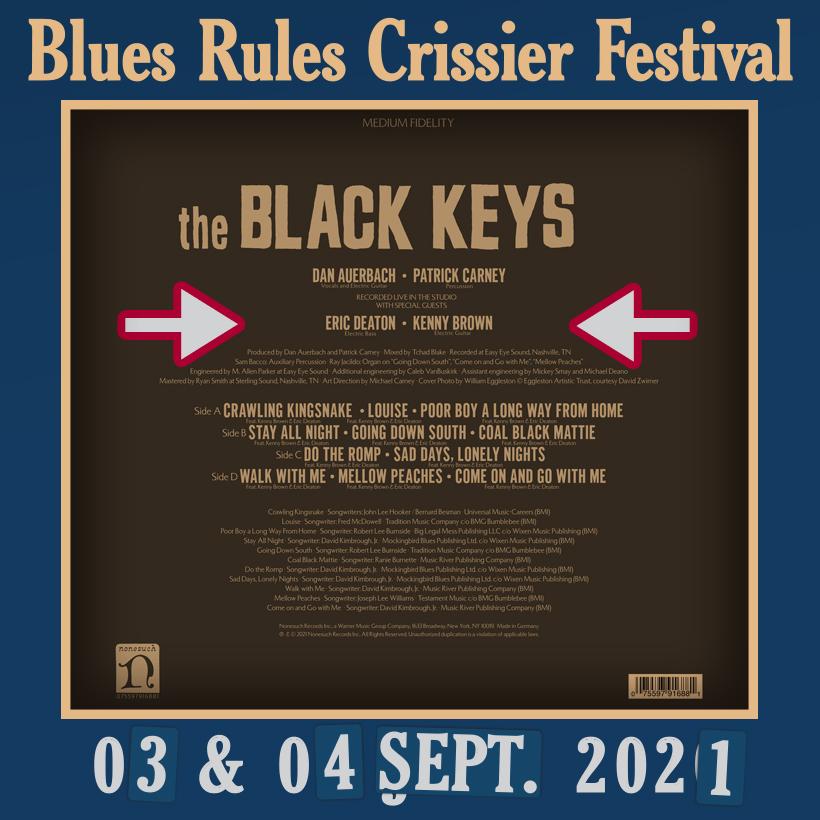 The Black Keys Delta Kream Deaton Brown