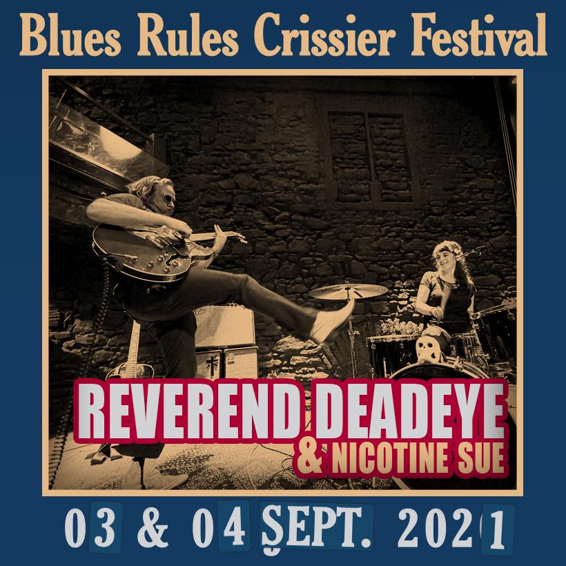 Rev Deadeye & Nicotine Sue @ Blues Rules 2021